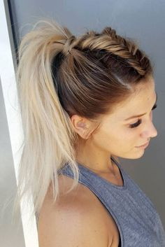 Ponytail with a twist
