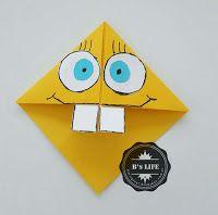 Kağıt Katlama İle Kitap Ayracı ~ B's LIFE Art N Craft, Bookmarks, Origami, Birthday Cards, Bullet Journal, Lettering, Craft Ideas, Amazing, Geometric Fashion