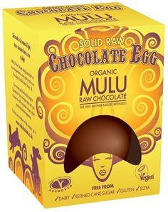 Mulu Raw Chocolate Easter Egg - 84g - Mulu Raw Chocolate - something to try