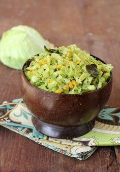 Among the classic recipes of Andhra, Cabbage fry stands out for simple flavors and easy preparation. Veg Indian food at its best with minimal spices.