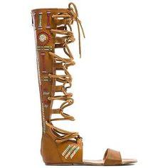 Free People Bellflower Tall Sandal Shoes
