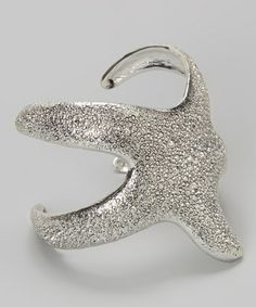 Another great find on #zulily! Silver Starfish Cuff by ZAD #zulilyfinds