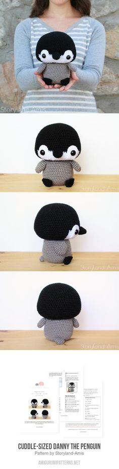 Cuddle-Sized Danny The Penguin Amigurumi Pattern