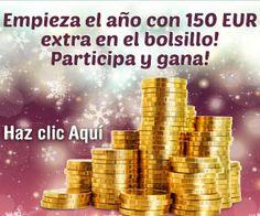 Empieza el nuevo año 2014 con 150 euros extras participando en este sorteo gratuito.  Promoción válida para España hasta 29/01/2014.  Más información aquí: http://www.baratuni.es/2013/12/sorteos-gratis-gana-150-euros.html  #sorteos #sorteosgratis #sorteosonline #baratuni