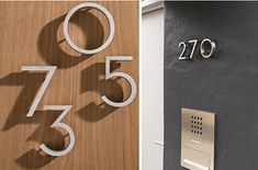 Replace your house numbers with a modern font.   33 Insanely Clever Upgrades To Make To Your Home