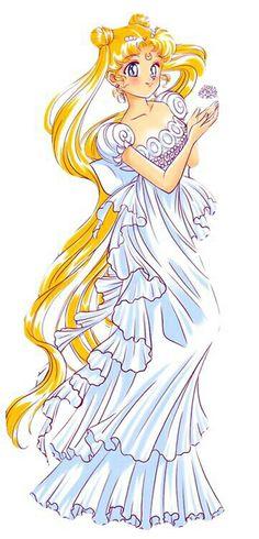 Princesa Serena con cristal de plata :)