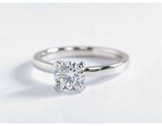 0.67 ct. Center Diamond Low Dome Comfort Fit Solitaire Engagement Ring | Recently Purchased | Blue Nile