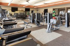 Fitness Center of Alexan-Creekside Apartments