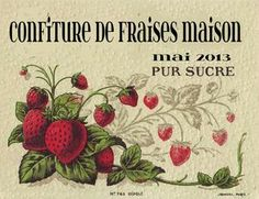 etiquette pour confiture - Google Search