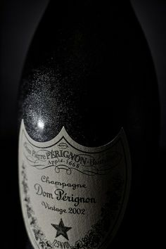 Champagne Dom Pérignon Vintage Bottle (obviously a Food Group. You even have to ask?)