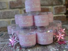 Fairy Dust Party Favors with Magic Wands