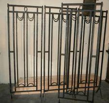 Porte art deco porte d 39 entr e ancienne fer forg pinterest portail pilier et fer forg for Portail fer forge art deco