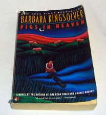 """Pigs in Heaven by Barbara Kingsolver Paperback, Reprint) Joyous sequel to """"The Bean Trees. Good Books, My Books, Barbara Kingsolver, Wasting My Time, I Love Reading, Raves, Pigs, Cherokee, Libraries"""