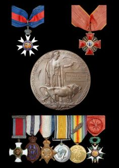 Medals that can be pinned to their suit and also sit well together if awards are won year on year (would need to be slightly different each year)