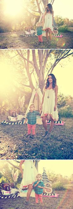 Gorgeous Outdoor Styled Family Shoot by Jackie Culmer Photography. Love the idea of an outdoor shoot like this!