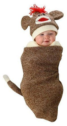 Pin for Later: 169 Warm Halloween Costume Ideas That Won't Leave Your Kids Freezing Marv the Monkey Bunting Costume Marv the Monkey Bunting Costume ($30)