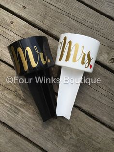 Mr. and Mrs. Beach Spikers Set of TWO Wedding Gift Next Wedding, Wedding Sets, Bridal Boxes, Beach Bachelorette, S Monogram, Wedding Honeymoons, Second Weddings, Carolina Blue, Summer Colors