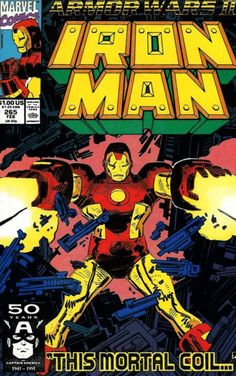 Iron Man # 265 by John Romita Jr. & Bob Wiacek