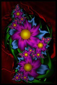 Dark Purple Blooms by JCCJ756 on DeviantArt