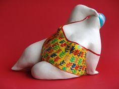 by Margriet Blom Pattern Art, Art Patterns, Plus Size Art, Paper Mache Clay, Fat Women, Big And Beautiful, Art Dolls, Lady, Cuddle