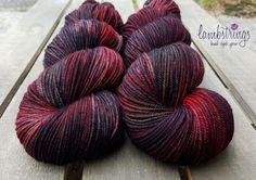 Merino Nylon Sport 3 ply, Hand dyed yarn, NSW Merino Wool/ Nylon,  328 yds/ 100g: Siafu. by Lambstrings on Etsy