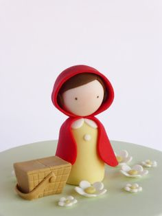 Peaceofcake ♥ Sweet Design - Little Red Riding Hood party cake