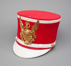 Majorette Hat with Plume and Box | Status Symbols | Harding Uniform and Regalia…