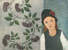 Illustrations Posters, Printmaking, Modern Art, Mona Lisa, Bloom, Watercolor, Helene Schjerfbeck, Girls, Beautiful