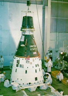 A photo of Gemini spacecraft