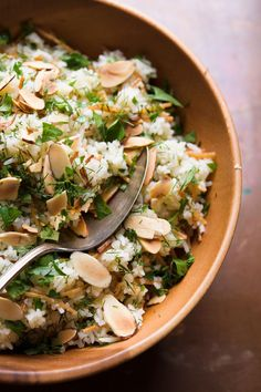 Middle Eastern Rice with Toasted Pasta and Herbs | Christopher Kimball's Milk Street Cereal Recipes, Gf Recipes, Healthy Recipes, Healthy Food, Middle Eastern Rice, Middle Eastern Recipes, Pasta With Herbs, Rice A Roni, Drying Pasta