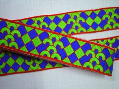 Green and Blue Embroidered designer Decorative Crafting trims and embellishments Laces   You can purchase from below link or What's App no. is +91-9999684477. We also take wholesale inquiries  http://shopofembellishments.com/tri2759-green-decorative-crafting-fabric-trims