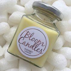 Sherbet Lemon Scented Candle