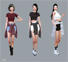 Hot Pants With Shirts by Marigold.