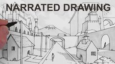 How to draw a Manga Background: YouTube art lesson video.