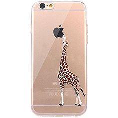 6fd7528da Amazon.com: iPhone 6 Case, JAHOLAN Amusing Whimsical Design Clear Bumper  TPU Soft