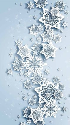 Wallpaper iPhone /snowflake ⚪️