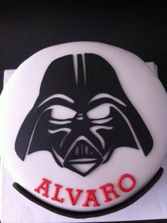 Tarta Darth Vader Star Wars elaborada por TheCakeProject en Madrid