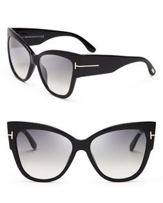 50fdc71048 TOM FORD Anoushka Cat Eye Sunglasses