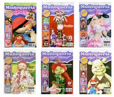 This website has a lot of pages with craft books to download. Some can be downloaded through DepositFiles. There's free doll and animal patterns.  Revistas de manualidades Gratis: muñecas soft