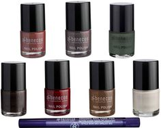 Keep nails and finger in tip top condition with Benecos Natural Nail Pen to soften cuticles and Create Nail Art with Benecos Happy Nails Nail Polish range of 16 beautiful colours