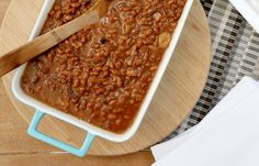 #SlowCooker #Boston Baked Beans