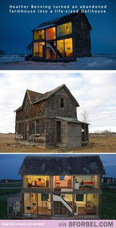 Life-Sized Dollhouse…