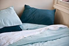 100% Linen Pillowslip Sets in All Colours | IN BED Store