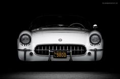 1954 Chevrolet Corvette C1 Front by AmericanMuscle on DeviantArt