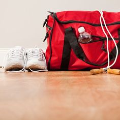 Low blood sugar, sweaty hair, split shorts… A lot can go wrong during your workout. That's why we asked personal trainers & fitness experts to reveal what gear & equipment they always to keep in their gym bags. From baby wipes to hair ties, learn from their mistakes and keep these life-saving items on hand so you'll be ready for any emergency.