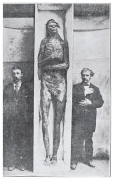 A giant mystery: 18 strange giant skeletons found in Wisconsin: Sons of god; Men of renown!
