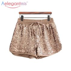 Cheap gold boxer shorts, Buy Quality gold sequin shorts directly from China shorts studs Suppliers:                        Size S : Waist 66-76 cm, Hips 96 cm, Length 28 cm, Thigh 64 cm.