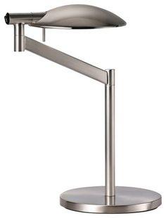 desk lamp brushed nickel - Google Search