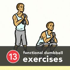 13 Functional Dumbbell Exercises