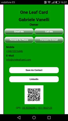 Pin by mg technology it on apple computer employees business card digital business card customizable no sending limit social media buttons qr code reheart Choice Image